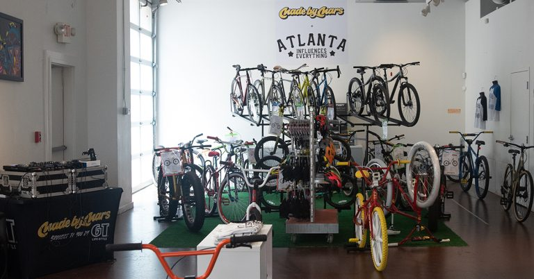 """With colorful, custom bikes and live DJs, Made by Mars pop-up shop is not """"your dad's garage"""""""