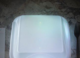 styrofoam takeout