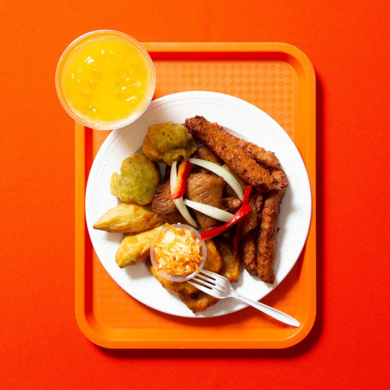 Find great griyo and other tastes of Haiti at Jojo Fritay in Kennesaw