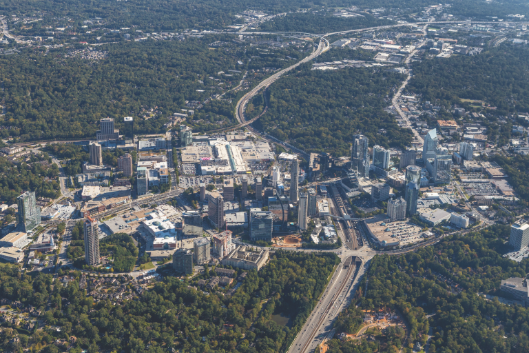 Getting in and around Buckhead