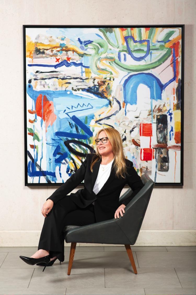 Women Making a Mark: Lindsay Caulfield