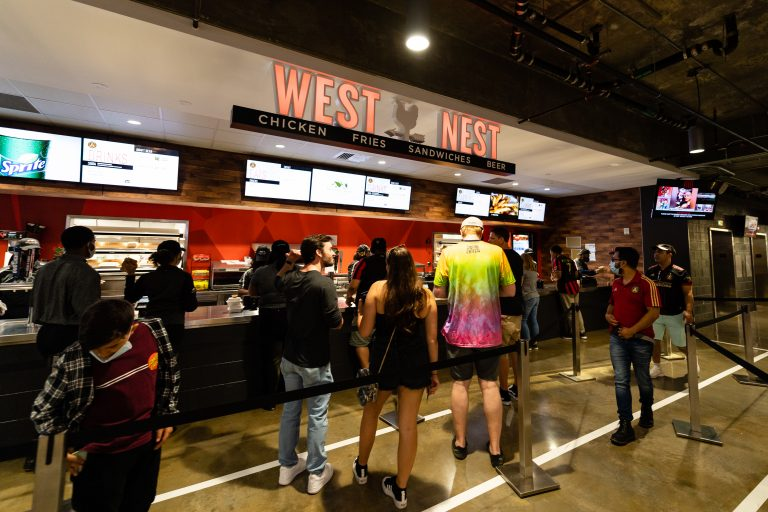 Westside Works expands its West Nest food stall at Mercedes-Benz Stadium