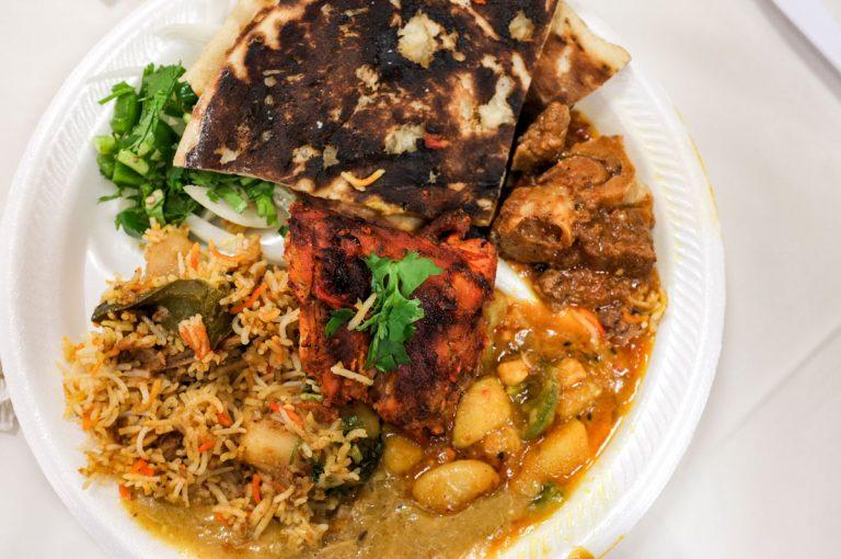 Scenes from a Ramadan Iftar meal in metro Atlanta