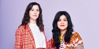 Anna Zietz and Erica Tankesley, owners of Glad & Young Studio