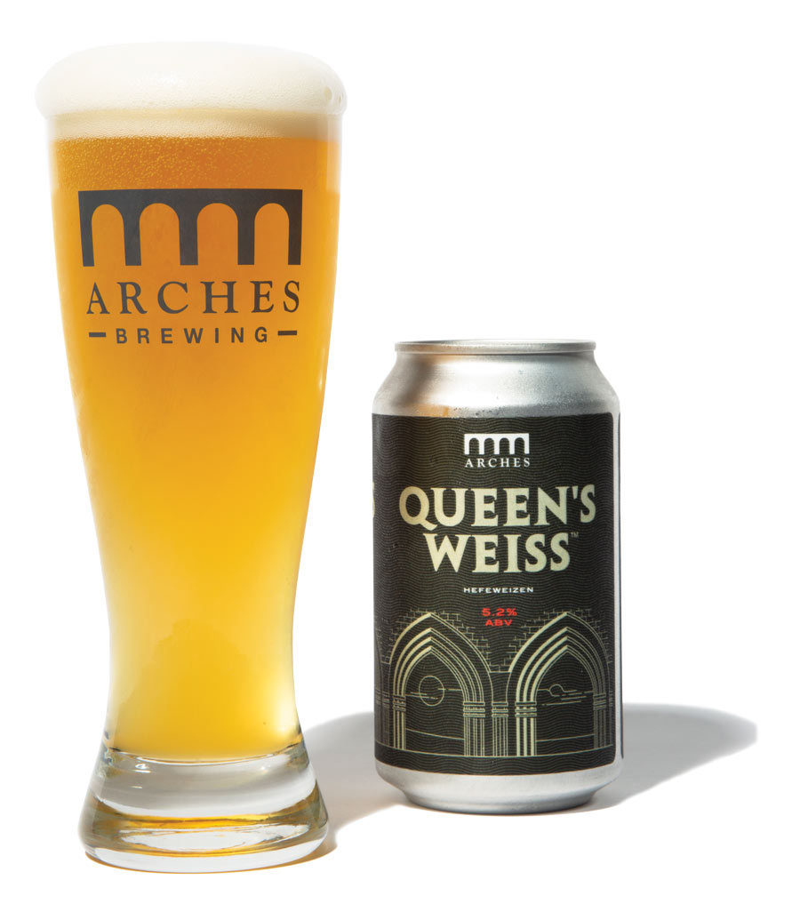 Arches Brewing Queen's Weiss