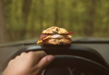 Dining in your car