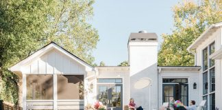 A designer's family home channels the easy-going vibe of her favorite beach towns
