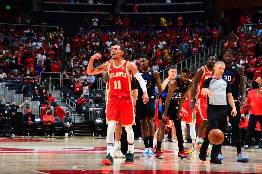 Trae Young 2021 Hawks playoffs
