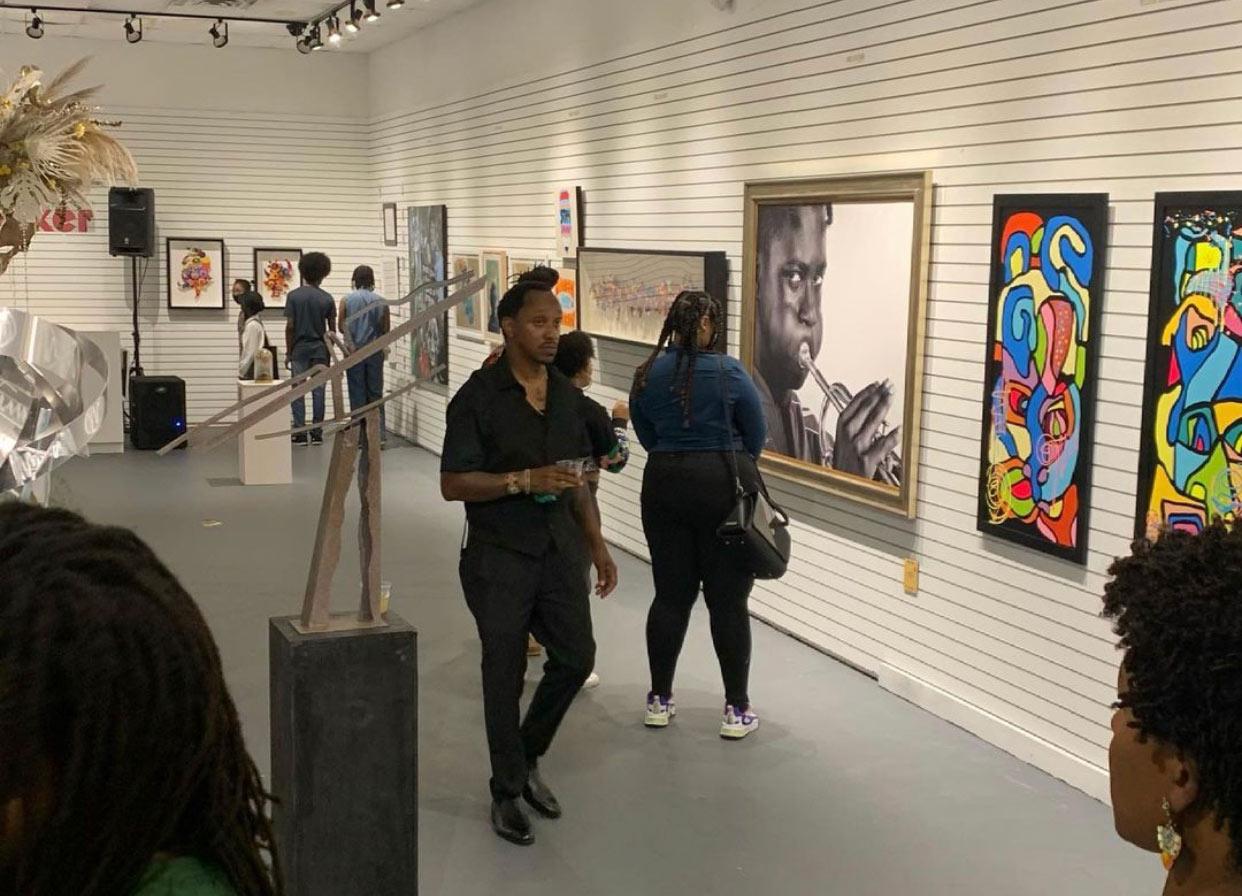 Self Liberated Fine Art Exhibition