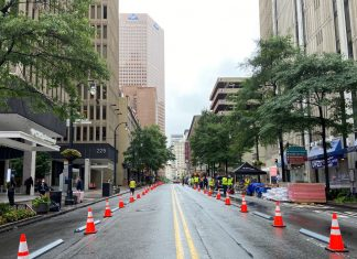 Peachtree Street Shared Street