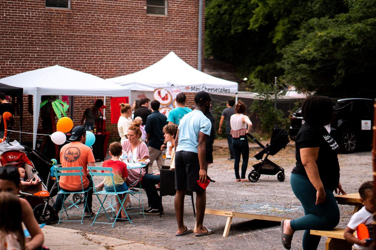 Upper Westside Yard Food Truck Park