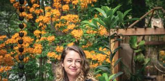 Landscape designer Brandy Hall helps homeowners tap their yards' own natural resources