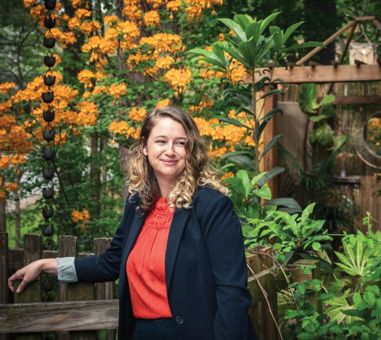 This landscape designer helps homeowners turn their yards into self-sustaining ecosystems