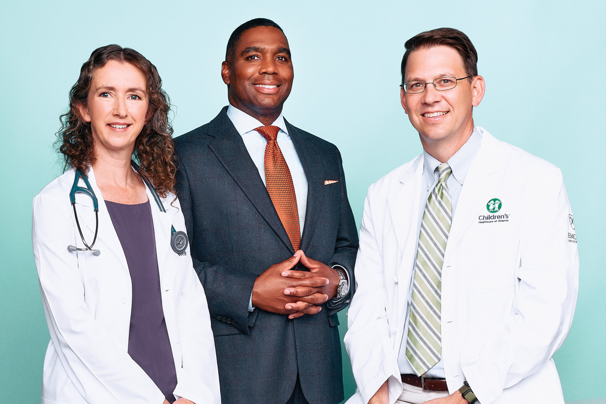 Top Doctors in Atlanta 2021: Mindy Gentry, Jermaine Jackson, Brian Vickery