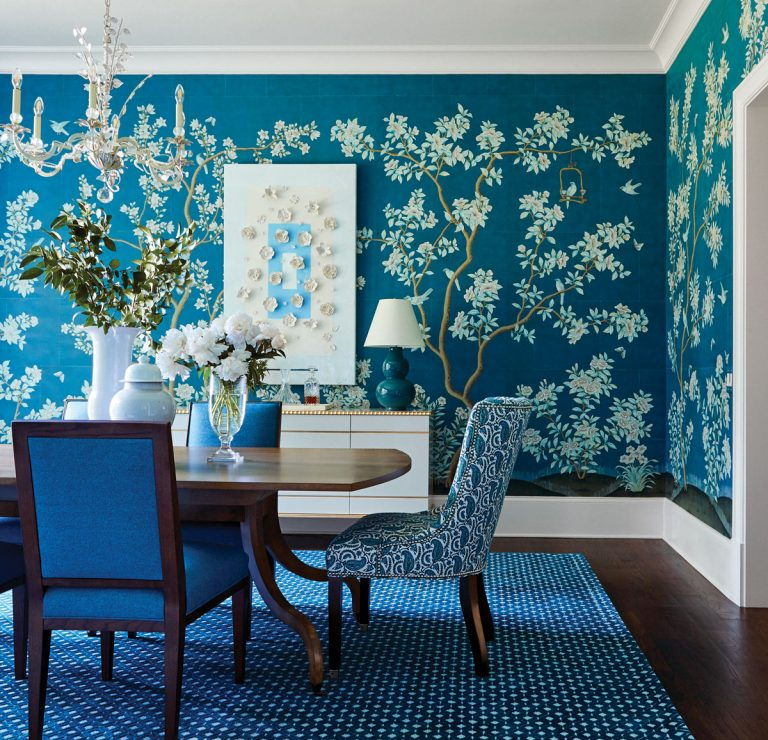 Designer Andrew Howard brings colorful, sophisticated South Florida style to this Buckhead home