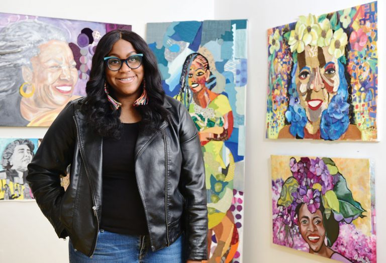 Muralist Ashley Dopson unites communities one wall at a time