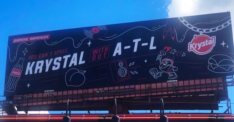 The Krystal on Northside Drive gets an ATL-themed makeover