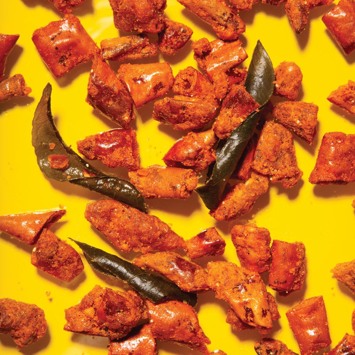 Fancy takeaway snacks made in restaurant kitchens