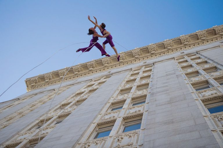 A vertical dance troupe will go off the wall in Old Fourth Ward this weekend