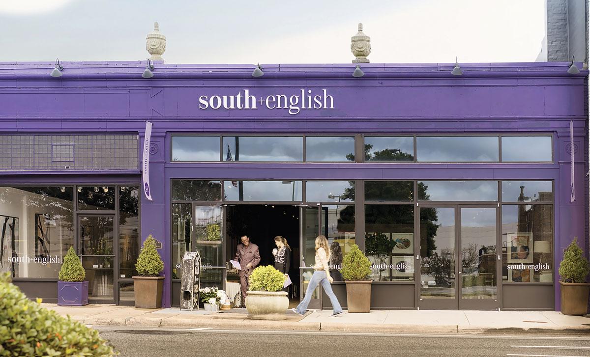 South + English