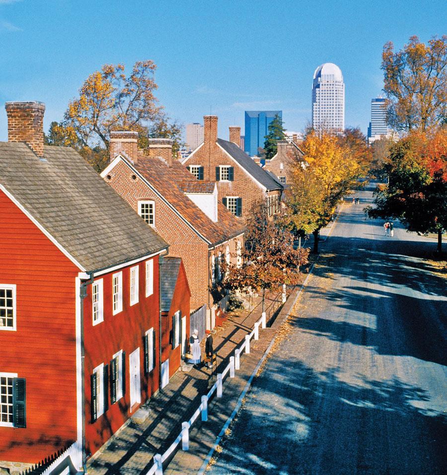 Winston-Salem's Old Salem