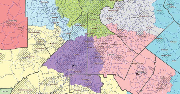 How will redistricting impact Georgia?