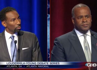 Atlanta Press Club Mayoral Debate 2021 Andre Dickens Kasim Reed