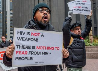 It's time to stop criminalizing HIV